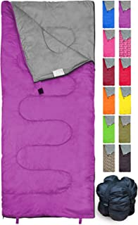 REVALCAMP Sleeping Bag Indoor & Outdoor Use. Great for Kids, Boys, Girls, Teens & Adults. Ultralight and Compact Bags are ...
