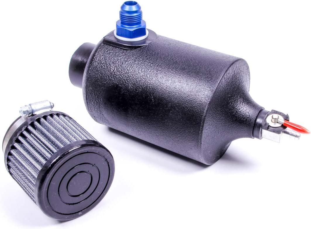 Jaz Ultra-Cheap Deals Products In a popularity 605-125-01 Black Breather Tank -10AN Fitting with