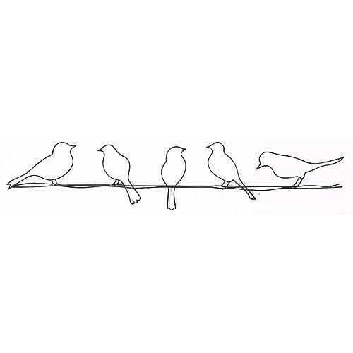 Metal Birds Wall Art Amazoncom