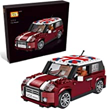 LOZ inFUNity Mini Cooper Model S Building Blocks (492 pieces) for Creator Expert Fans, English Box and Instruction