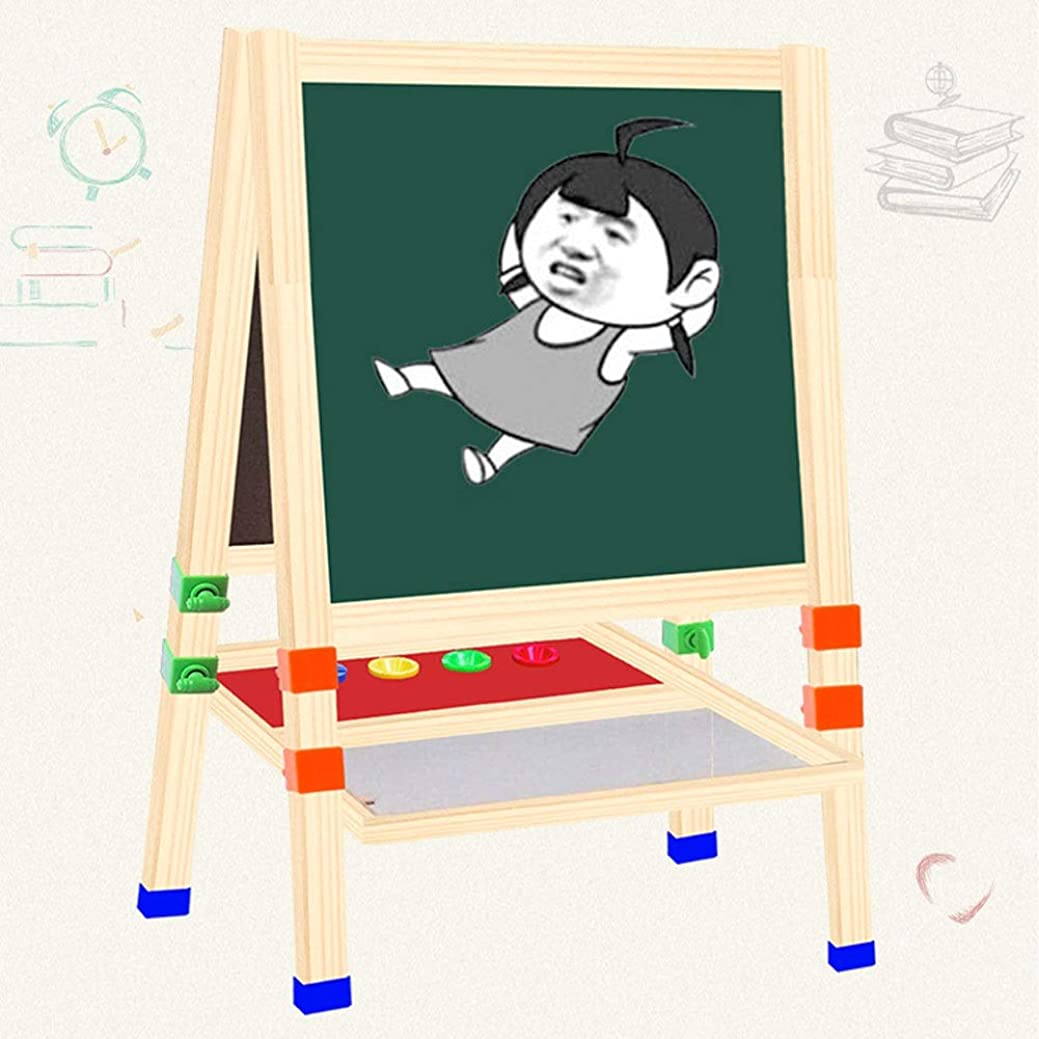 襟大使館傾向デラックス木??製立ちアートイーゼル(アート&クラフト、簡単に組み立てるには、少年少女のための大きいギフト - 2-3Yearオールズとアップのためのベスト) Z-20-9-4 (Size : E2)