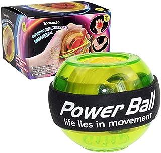 Khosd LED Boule De Poignet Entra/îneur D/étendre Gyroscope Balle Musculaire De Haute Qualit/é Boule De Puissance Gyro Bras Exerciseur Renforcement /Équipements De Fitness