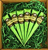 The Henna Guys 100% Natural Ready to Use Henna Cones Paste Hair Dye - Perfect for Spot hair coloring (6 Pack)