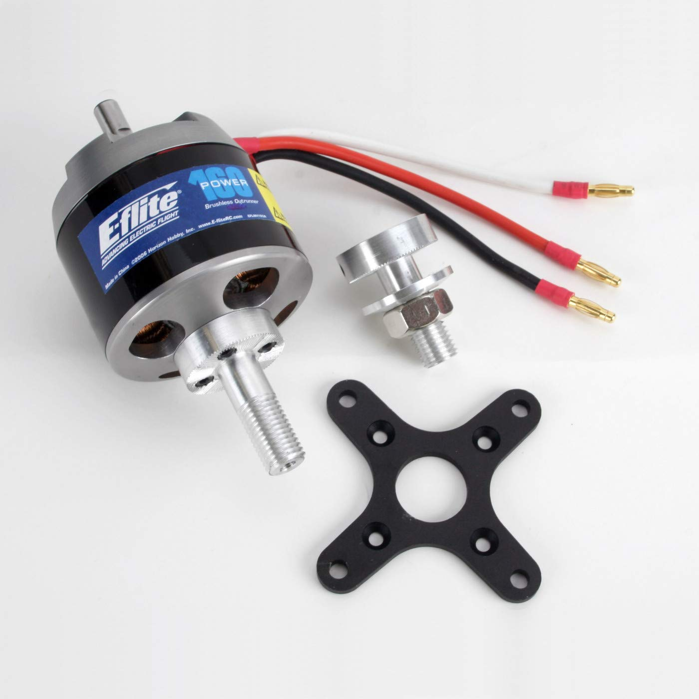 E-flite Power 160 Brushless Outrunner Motor, 245Kv: 4mm Bull