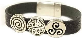 celtic weave bracelet