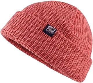 Clape Winter Beanie Stylish Knitted Fisherman Caps Soft Warm Ski Hat Unisex Cuffed Plain Skull Ski hat