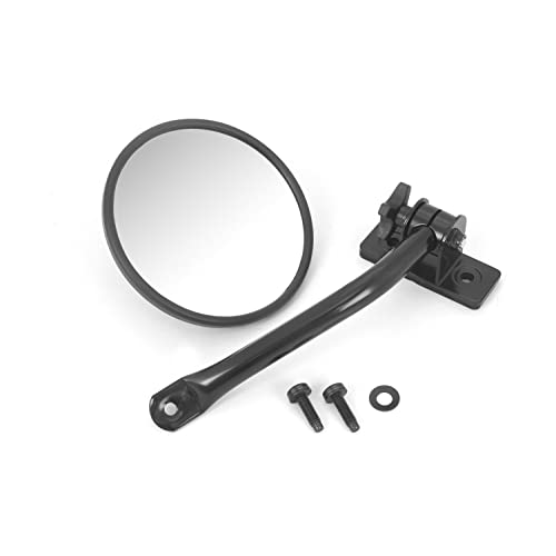 Rugged Ridge 11025.10 Black Quick Release Mirror Relocation Kit