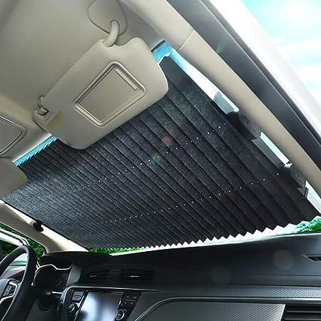 Chutoral Pare-soleil de voiture pour pare-brise avant Protection UV pour voiture Pliable Pare-soleil avant Pare-soleil Pare-soleil Parapluie Garde le v/éhicule au frais