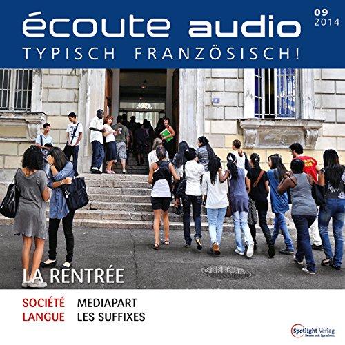 Écoute audio - La rentrée. 9/2014 audiobook cover art