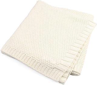 Baby Knit Blanket Soft Thick Knitted Baby Boy Girl Unisex Wrap Blanket Pram Cot Crib Newborn Crochet Quilt Nursery Bedding...