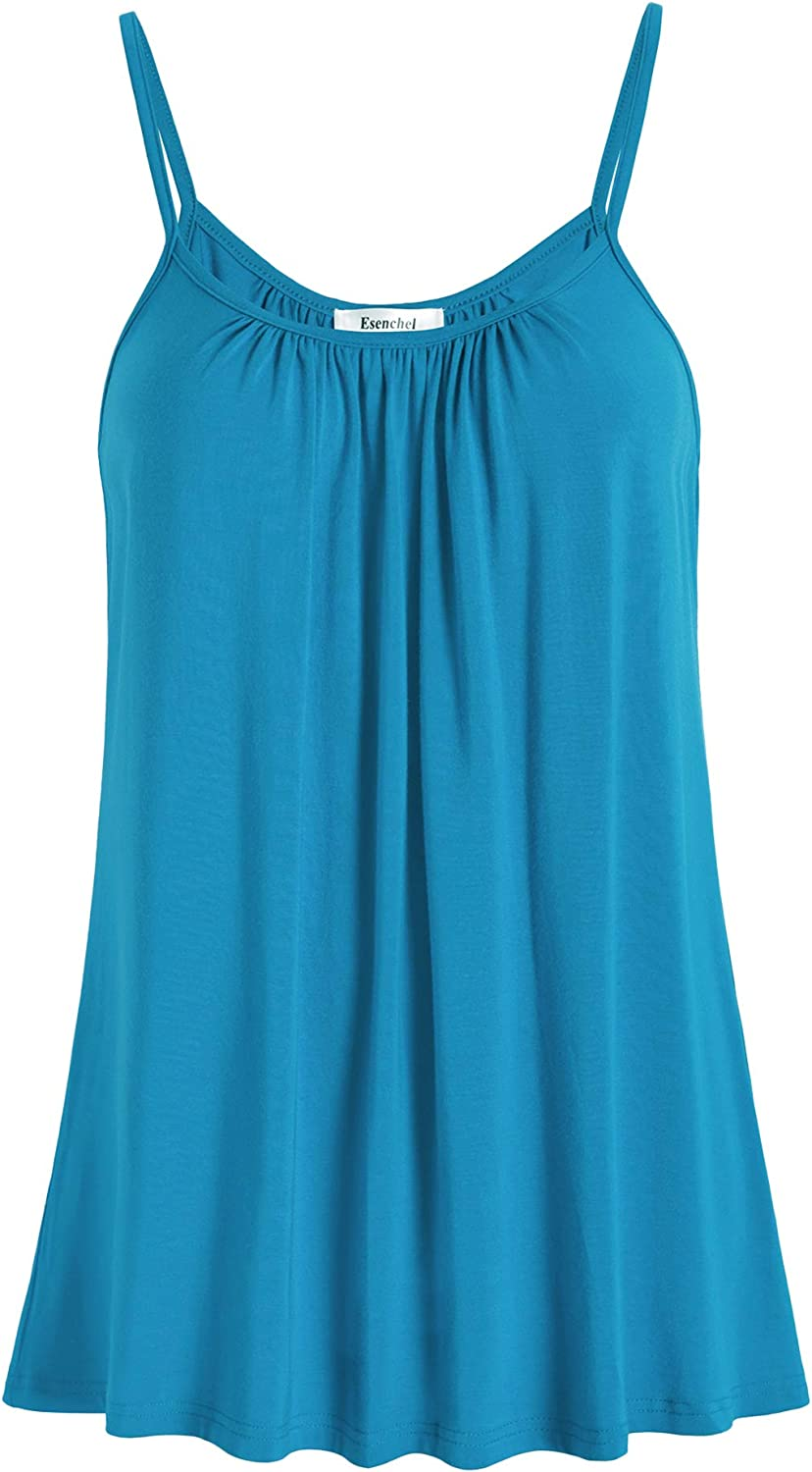 Esenchel Women's Loose Discount mail order Cami Max 66% OFF Camisole Casual Top Tank