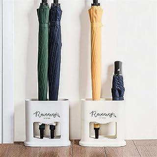 Sue-Supply Paragüero óvalo para el hogar Estante para Paraguas Parrilla Porta Drenaje Can 4 estantes Paraguas