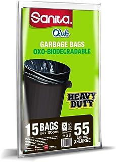 Sanita Club 55 Gallons, 15 Bags