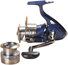 Torn Heaven Spinning Fishing Reel with Spare Spool 2000Xia 2500Xia 3000Xia 4000Xia Carretes Pesca Spinning Wheel Molinete Peche