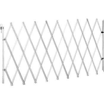 ib style® LIN 60-108cm Treppengitter Absperrgitter Hundegitter Schutzgitter