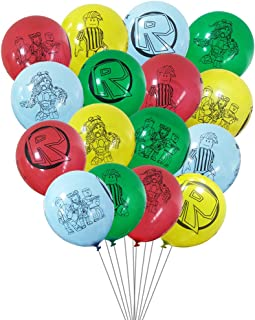 24 pcs video game balloons, video game theme birthday party supplies decoration, large 12-inch latex balloons.