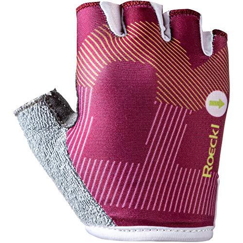 Roeckl Teo Kids Kinder Fahrrad Handschuhe kurz pink 2020: Größe: 5