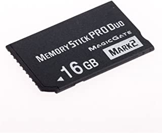 Huadawei 16GB MS(Mrak2)MemoryStick Pro Duo HX High Speed Memory card for SONY PSP 1000 Accessories