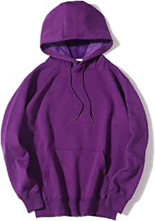 Mogogo Men's Fleece Relaxed-Fit Hooded with Pockets Hooded Sweatshirt