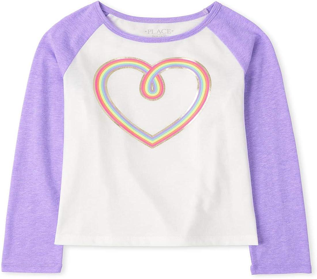 The Children's Place Girls' Long Sleeve Button-Up Shirt