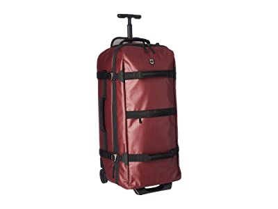 Victorinox VX Touring Coated Wheeled Large Duffel (Beetroot) Duffel Bags