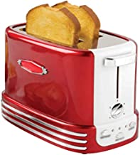 XYHAD Toaster, Bigens 2-Slice Toaster, Kitchen Small Appliance, Automatic Toaster Breakfast Machine Toaster