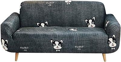 PETCUTE Fundas de Sofa Protector de sofá Dos plazas Beige 2 ...