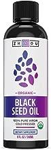 Usda Certified Organic Black Seed Oil - 100% Virgin, Cold Pressed SOURCE Of Omega 3 6 9 - Nigella Sativa Black Cumin - Super antioxidant for Immune Support, Joints, Digestion, Hair & Skin, 8oz