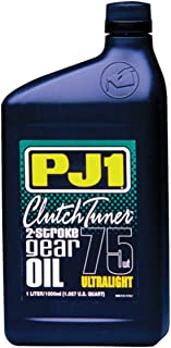 PJ1 Gold Series Clutch Tuner 2-Stroke Gear Oil - 80W - 1L. 11-32