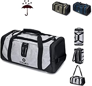 Gym Bag Travel Bag with Wet Dry Storage Shoes Compartment Waterproof & Durable for Men/Women Travel Duffle Bag Carrying Workout Gear