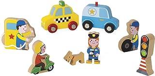 (City) - Janod J08512 Mini Story Wooden Game, City