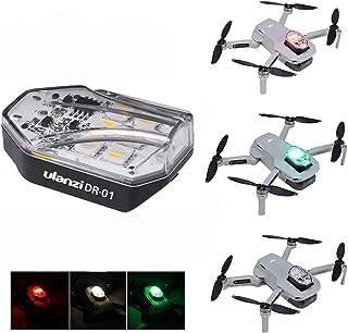 アキバガジェット Ulanzi DR-01 ドローンライト フラッシュ LEDライト 衝突防止 照明RGB 3色ユニバーサル DJI Mavic Mini / 2 Pro/Mavic 2 Zoom/Mavic Air/Mavic Pro/Mav...