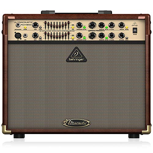 Behringer ULTRACOUSTIC ACX1800 Akustikinstrumentenverstärker
