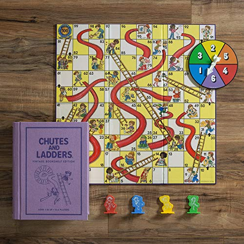 WS Game Company Chutes and Ladders Vintage Bookshelf Edition
