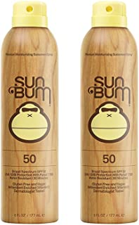 Sun Bum Continuous Spray oLQdv Sunscreen, SPF 50 (2 Pack)