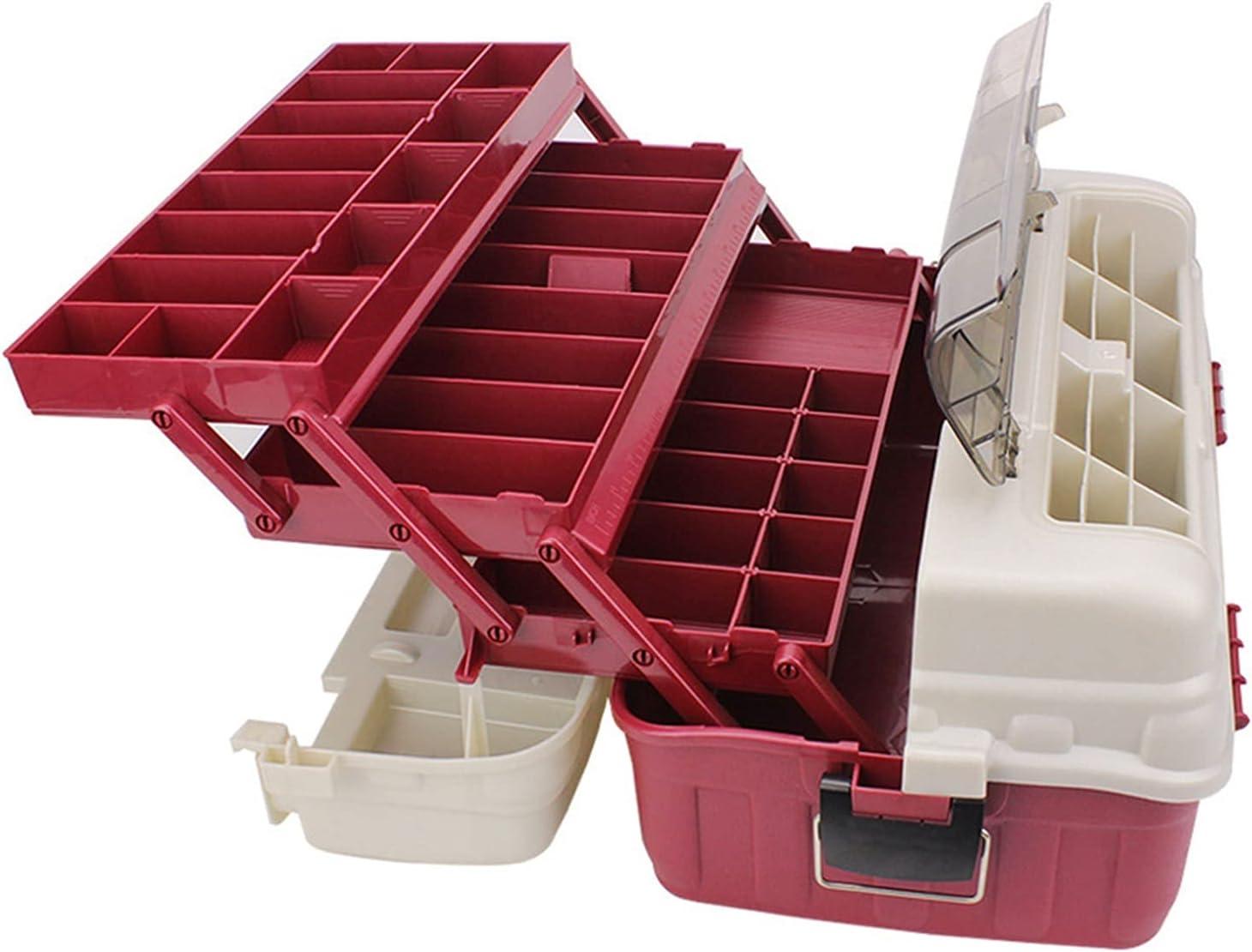 Sacramento Mall New Shipping Free CJshop Tool Box Portable Durable Fishing Multi-Layer Ha