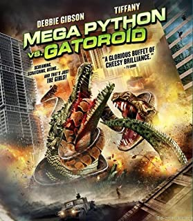 Mega Python Vs Gatoroid Mini Poster 11X17in Master Print