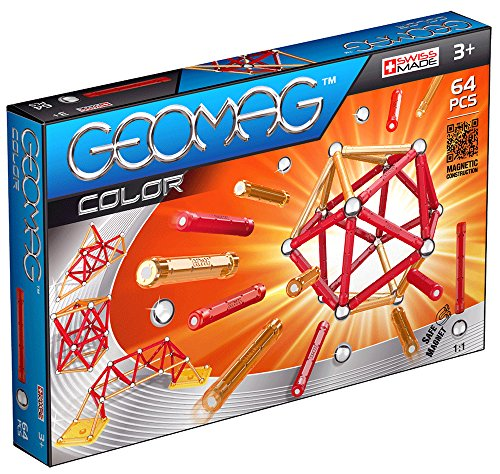 Geomag 253 - Color, 64-teilig