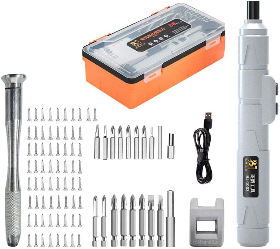 Cordless Screwdriver Set Rechargeable 2 Electric Drill Now on sale 3.6v Cheap mail order sales
