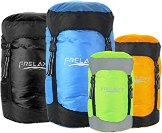 Frelaxy Compression Sack, Compression Stuff Sack 8L/15L/25L/35L, Ultralight & Water-Resistant Sleeping Bag Stuff Sack - Space Saving Gear for Camping, Traveling, Backpacking