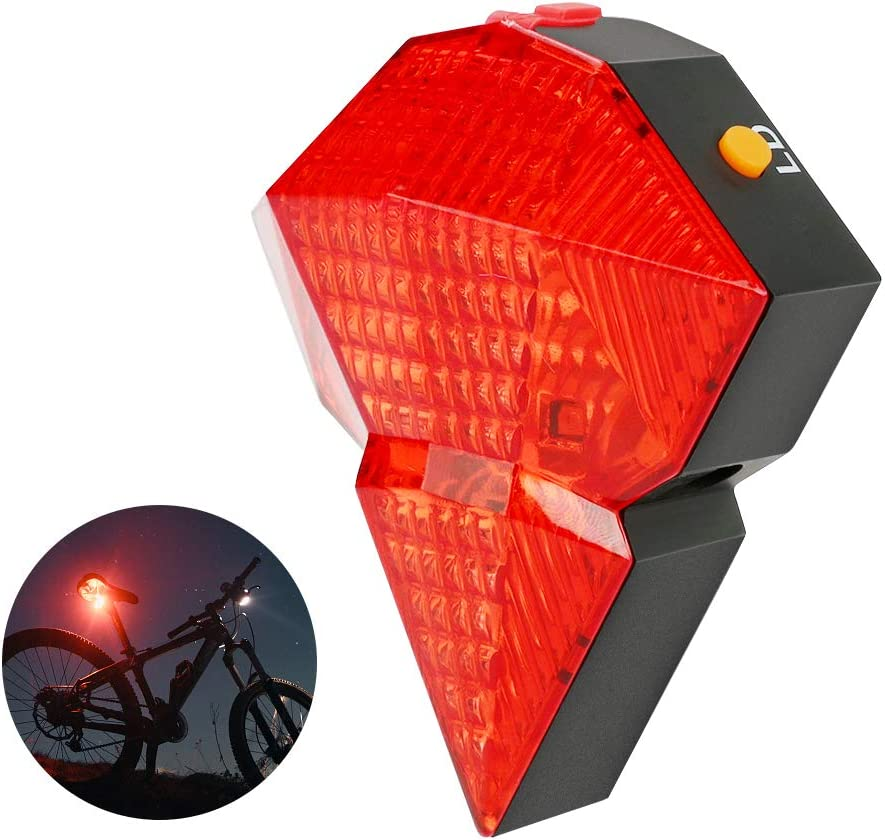 WIOR Latest item Rear Bike Light USB Ranking TOP17 Waterp Tail Rechargeable Bicycle