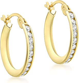 Carissima Gold Damen-Ohrringe 9 Karat (375)