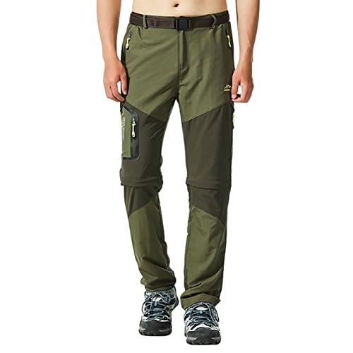 Freiesoldaten Pantalones Softshell de Escalada al Aire Libre para Hombres//Pantalones de Carga Fina