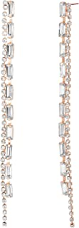 Steve Madden Women's Alloy Rhinestone Multi Color Drop and Dangle Earrings - SME508971RG