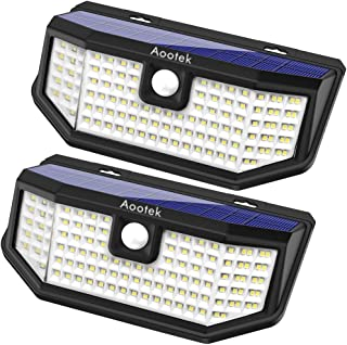 Aootek 120 Led Solar outdoor motion sensor lights...