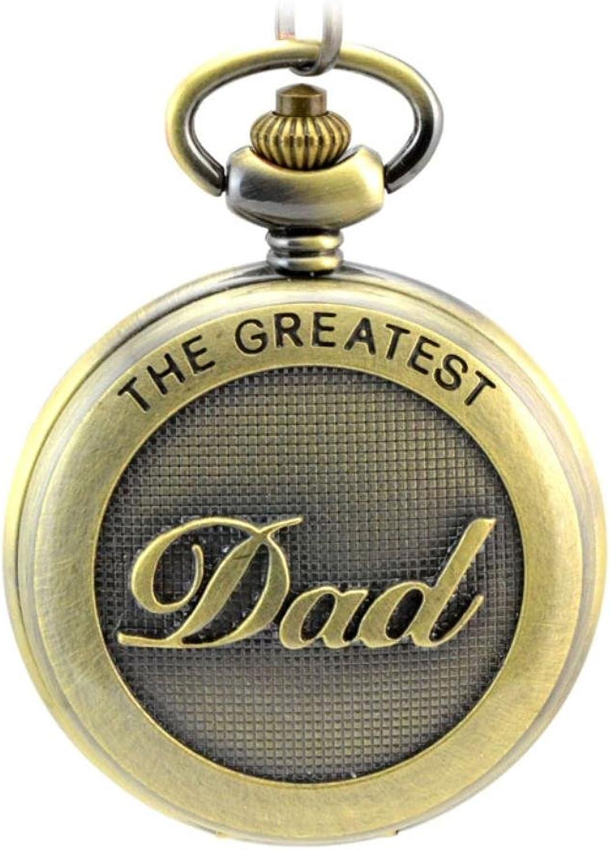 XM Table retro men Lady necklace Pocket Watch dad Memorial pocket watch