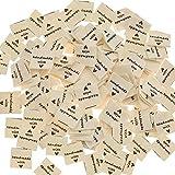 Amacoam Etiquetas de Tela Hechas a Mano para Ropa Etiquetas Ropa Coser Etiqueta...