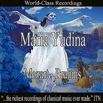 Maria Yudina - Mozart, Brahms