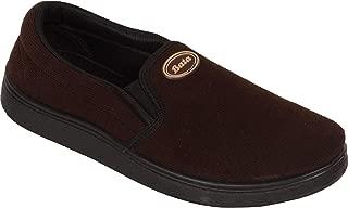 BATA Men Brown Canvas Slip On Canvas Shoes