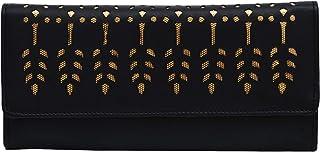 Aisna women black wallet (ASC-001) (black)